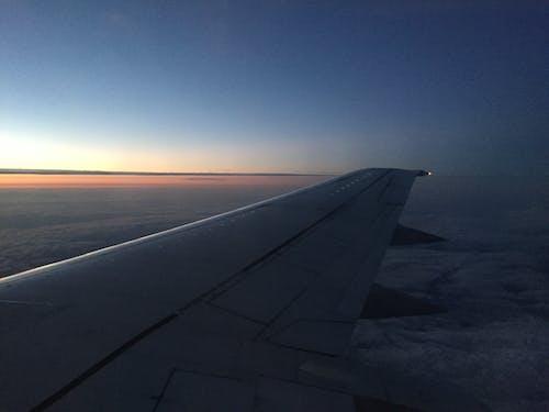 Immagine gratuita di aerei, cielo, nuvole