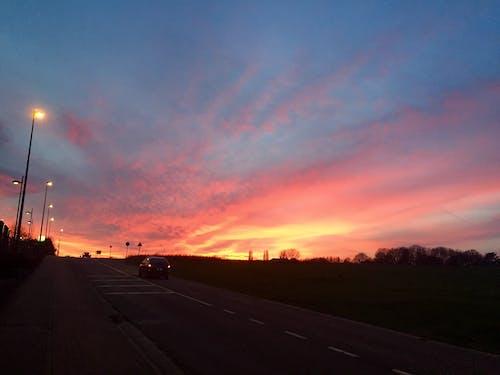 Immagine gratuita di cielo, fuoco, tramonto