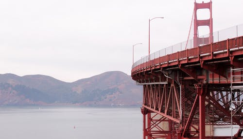 Free stock photo of bridge, golden gate bridge, red, san francisco