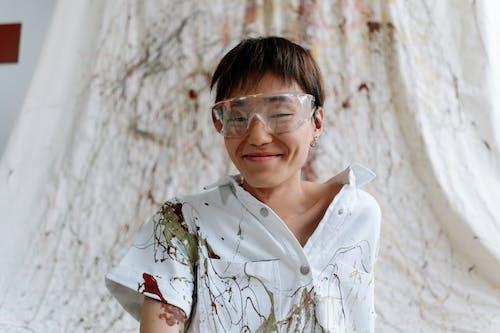 Kostenloses Stock Foto zu brillen, draußen, eine person