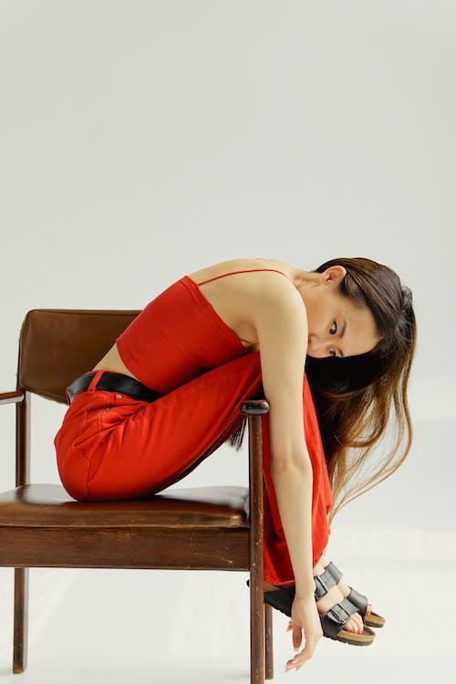 Imagine de stoc gratuită din adorabil, așezat, asiatic