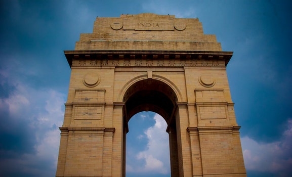 Brown Concrete India Gate