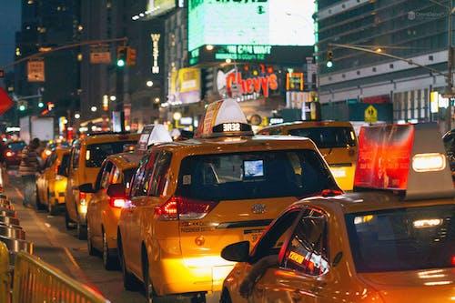 Free stock photo of car, city, new york city