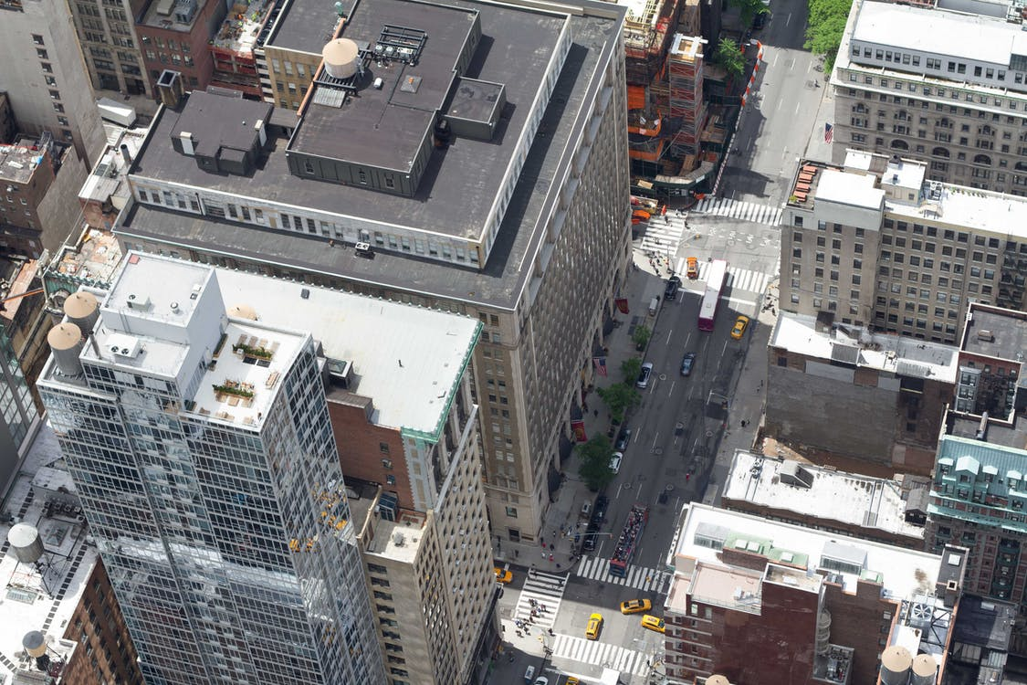 città, edifici, new york
