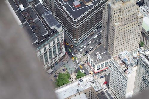 คลังภาพถ่ายฟรี ของ การจราจร, นิวยอร์กซิตี้, รถ, สหรัฐอเมริกา