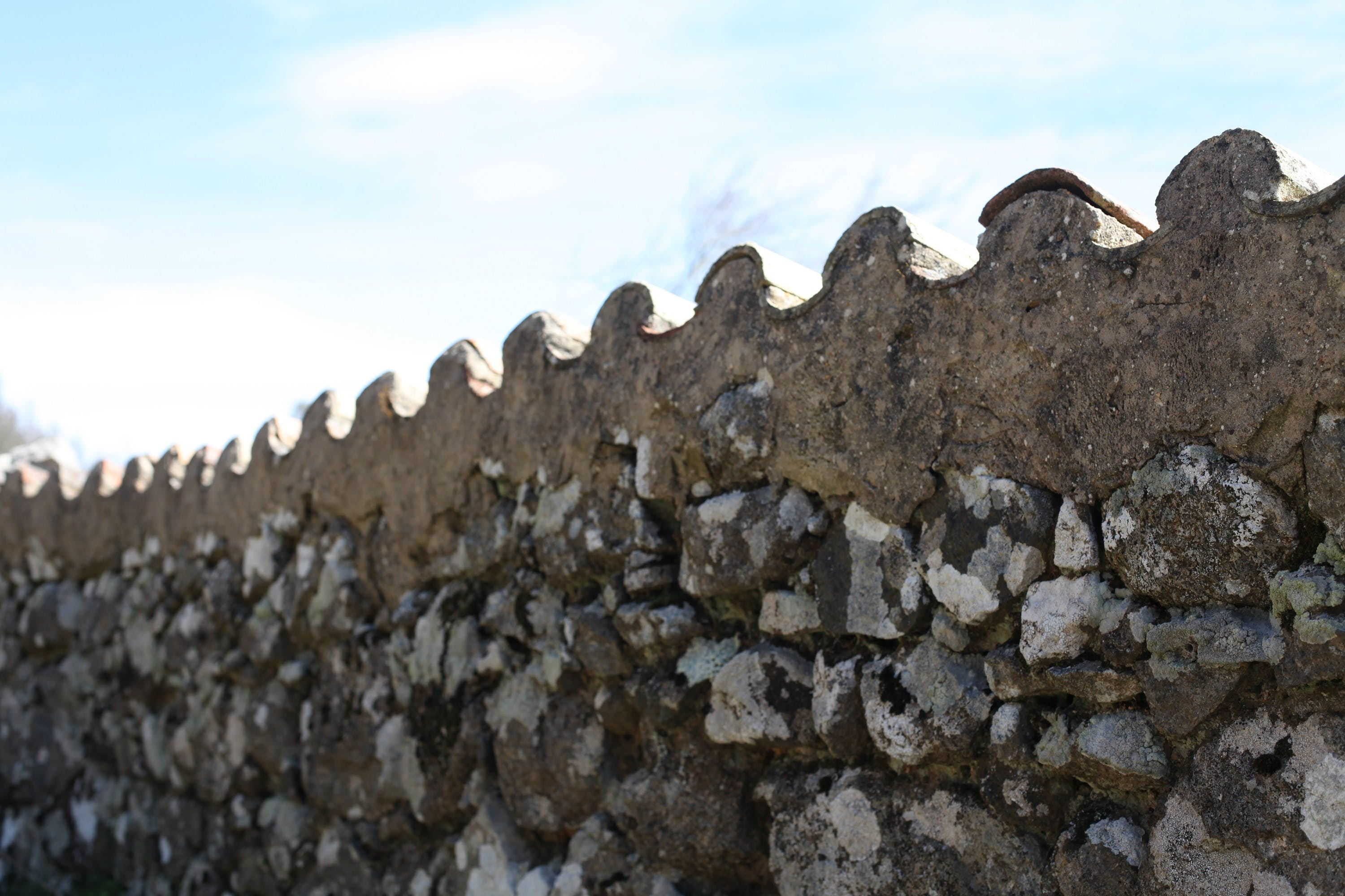 Free stock photo of wall, roof, old