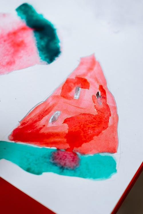 Kostenloses Stock Foto zu acryl, aquarell, bild