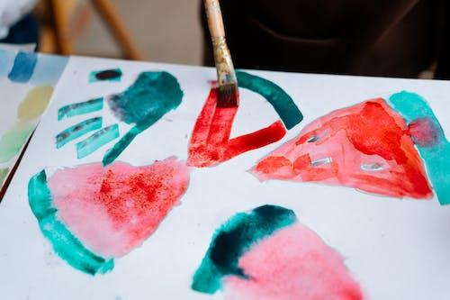 Kostenloses Stock Foto zu acryl, aquarell, aquarellmalerei