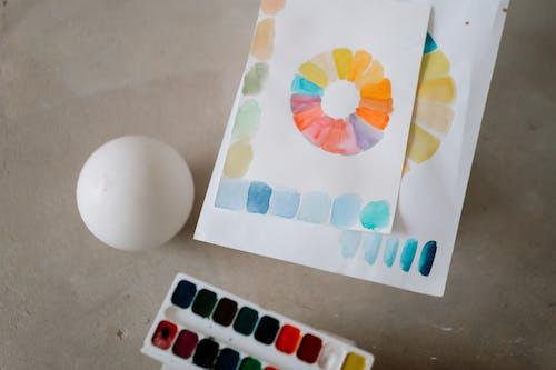 Kostenloses Stock Foto zu aquarell, begrifflich, business
