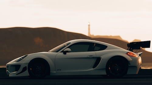 Black Porsche 911 on Road
