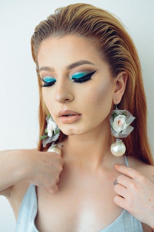 매력적인, 머리, 메이크업, 모델의 무료 스톡 사진