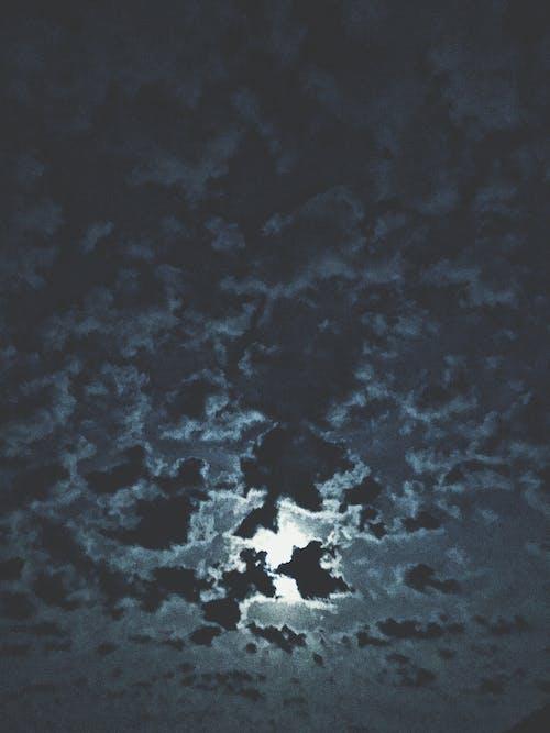 açık hava, bulutlar, dış mekan, gece içeren Ücretsiz stok fotoğraf