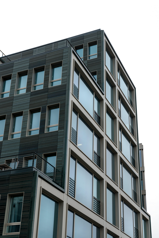 blockhaus, fenster, glasfenster