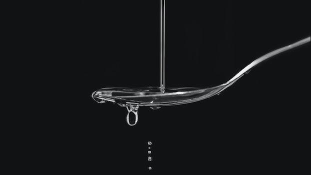 Water Droplet on Spoon