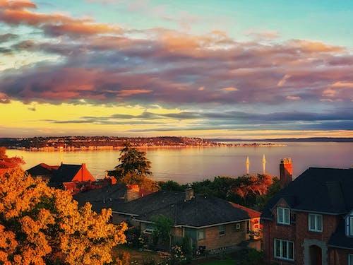 Free stock photo of beatiful landscape, coastal landscape, golden sunset