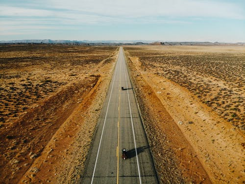 Free stock photo of beatiful landscape, country road, desert