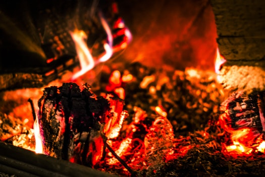 Free stock photo of light, firewood, fire, hot