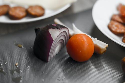 Základová fotografie zdarma na téma barva, cibule, maso, rychlé občerstvení