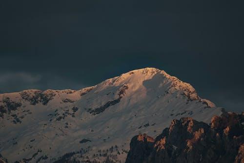 Kostenloses Stock Foto zu abend, berg, dämmerung