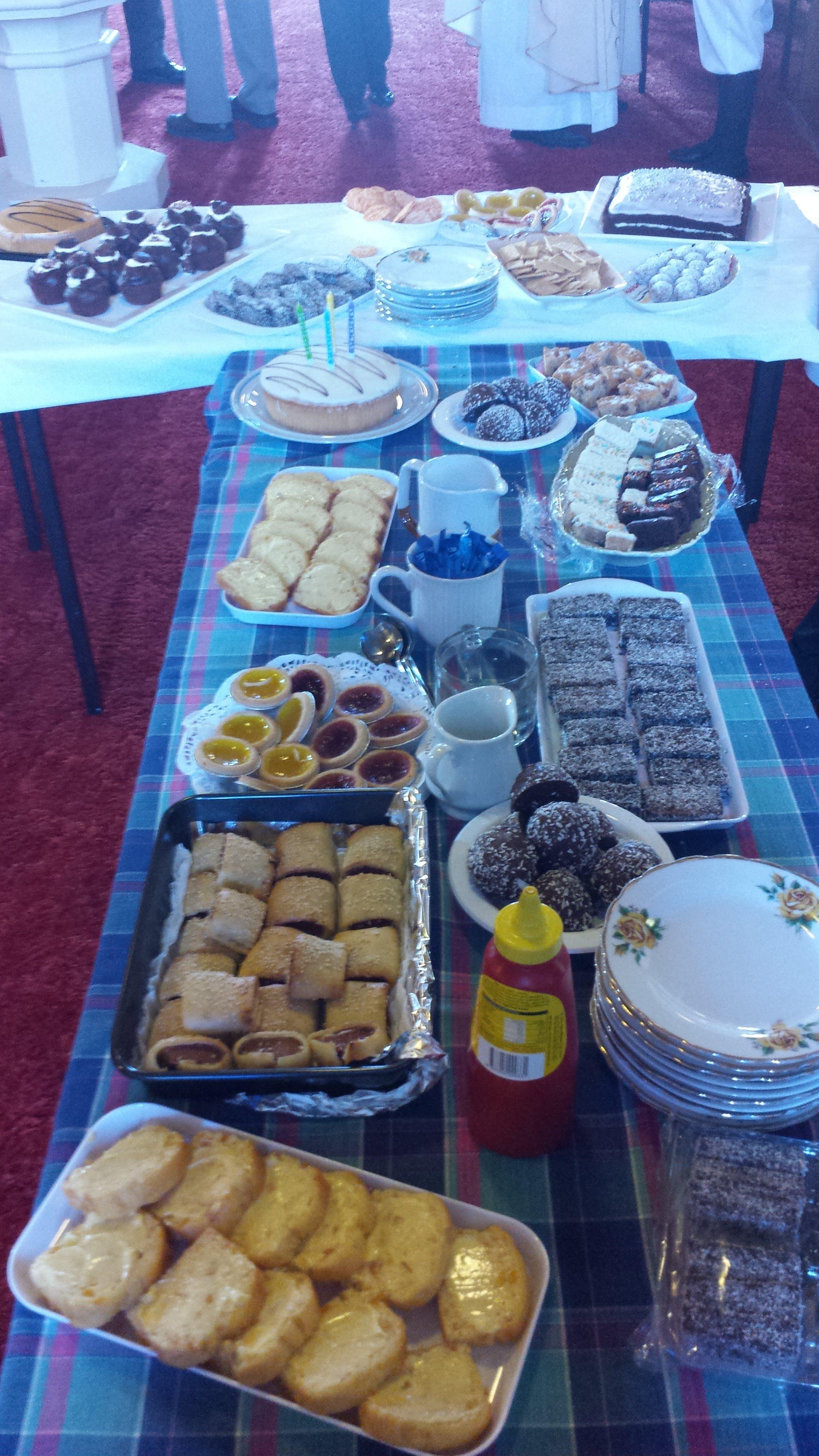 Free stock photo of food, people, church, cake