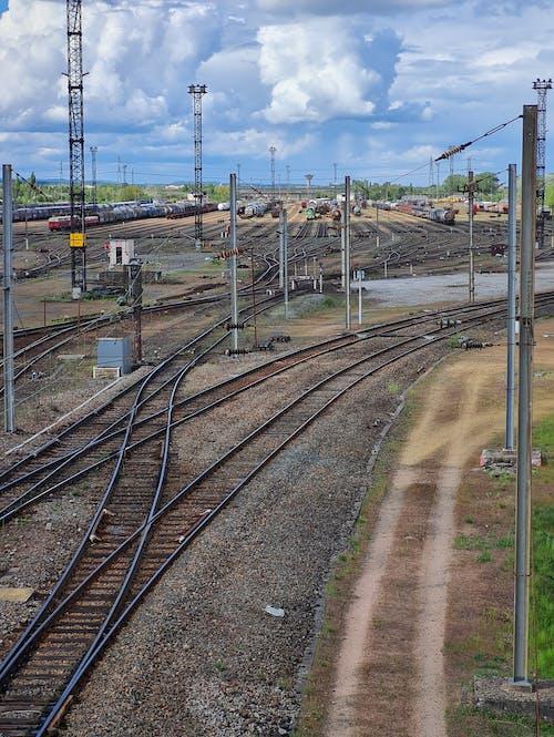 Free stock photo of railroad, railway, railway line