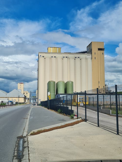 Free stock photo of food storage, seeds, silo