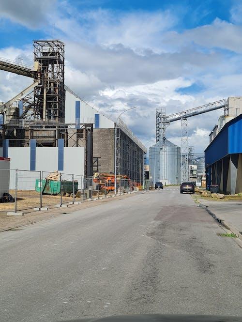 Free stock photo of cargo port, charging port, port