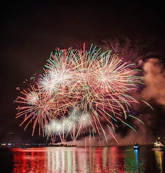 Photography of Fireworks Display
