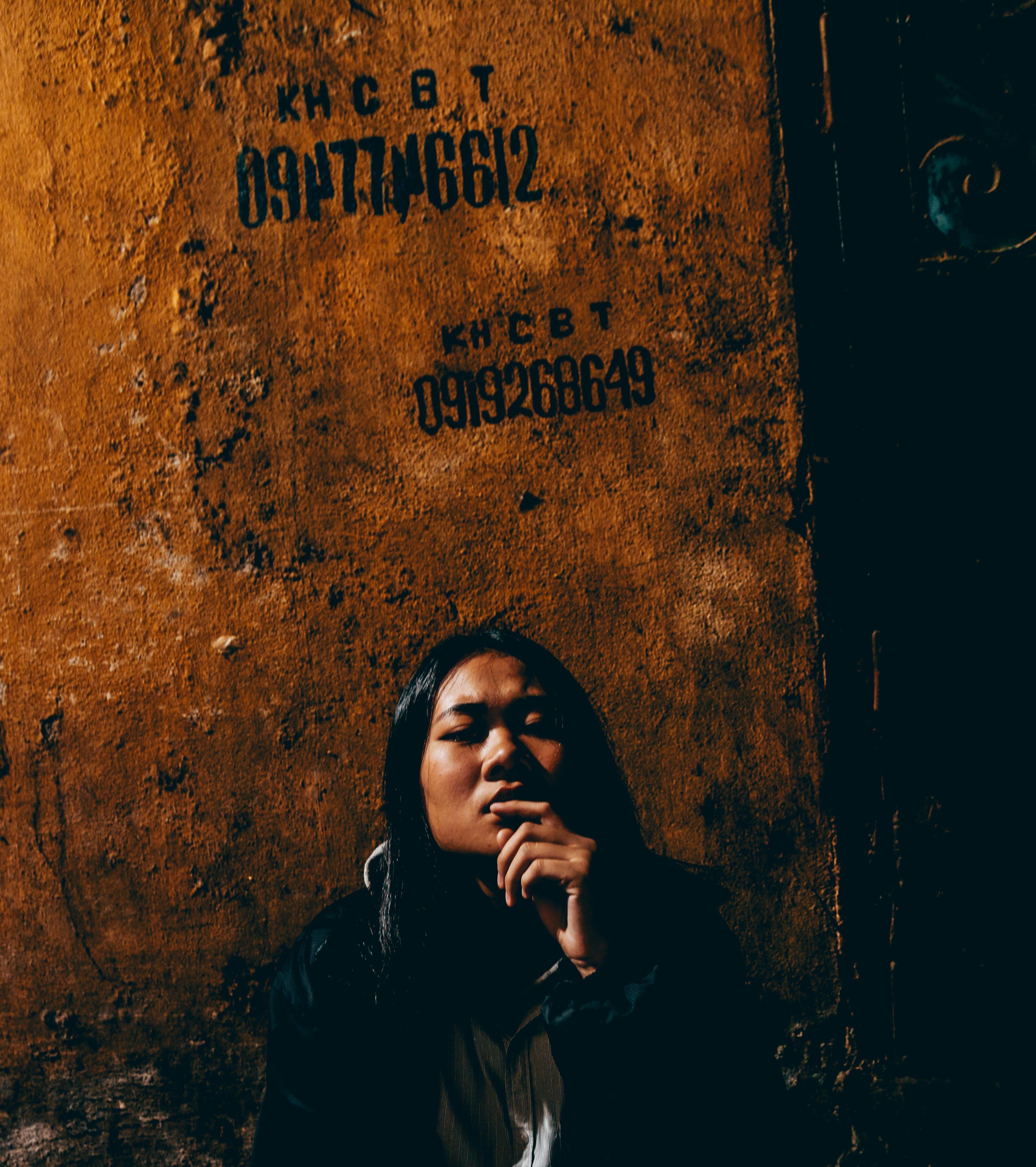 Woman Waring Black Jacket