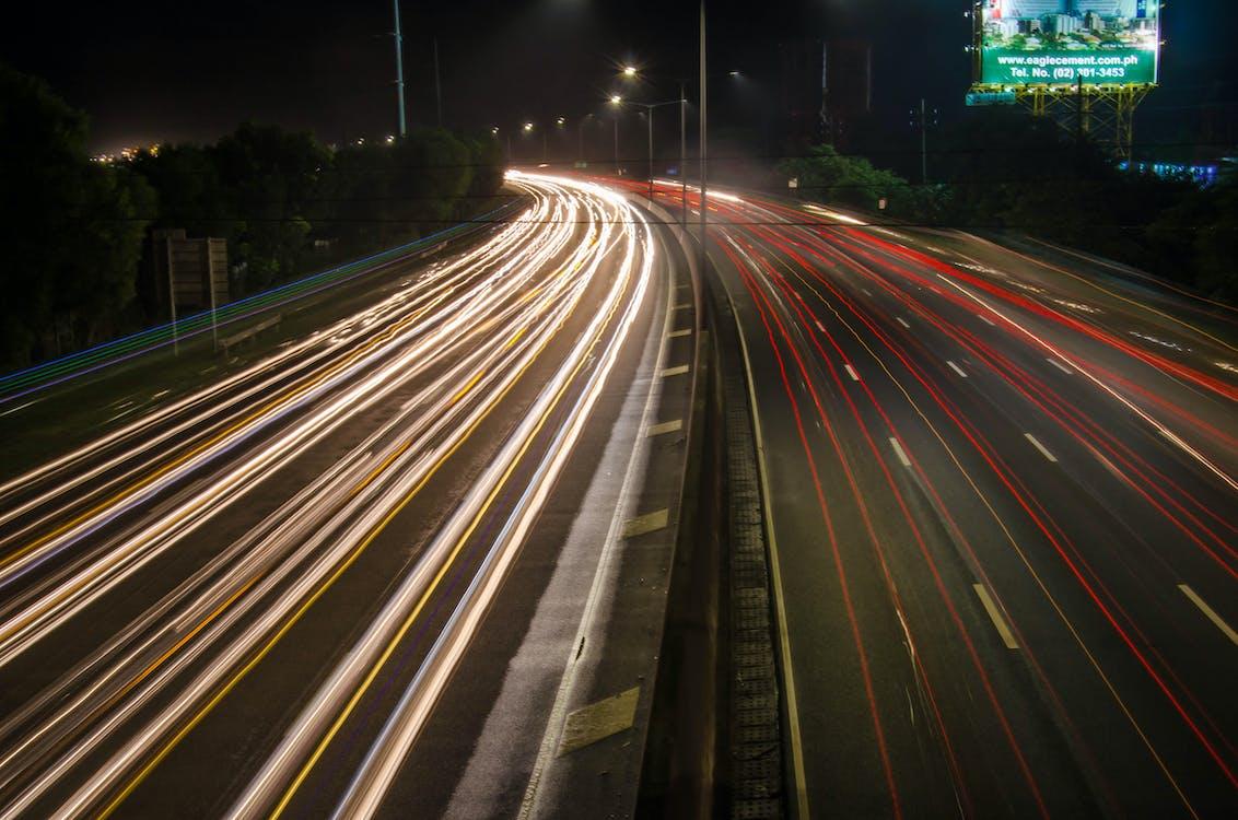 Free stock photo of highways