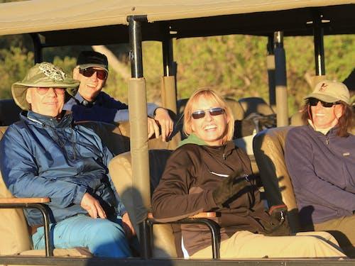 Free stock photo of africa safari, safari, safari guests