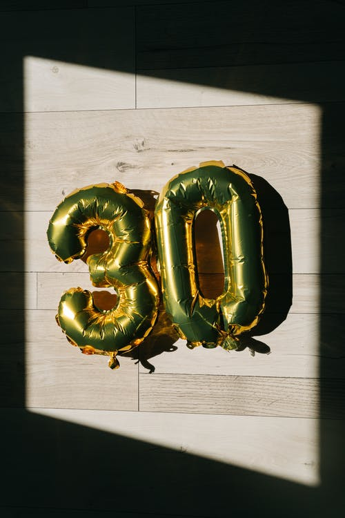 Foto stok gratis 30-an, alfabet, balon
