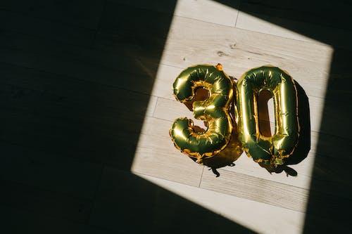 Foto stok gratis 30-an, balon, bayangan