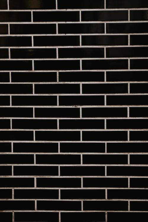 Free stock photo of black and white, black and white background, brick background