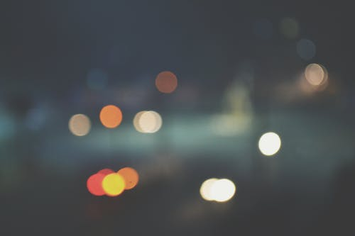 Free stock photo of blur, blurred, cars, darkness