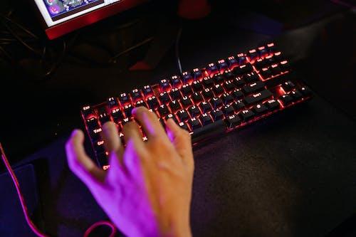 Foto d'estoc gratuïta de dits, escrivint, escrivint a màquina