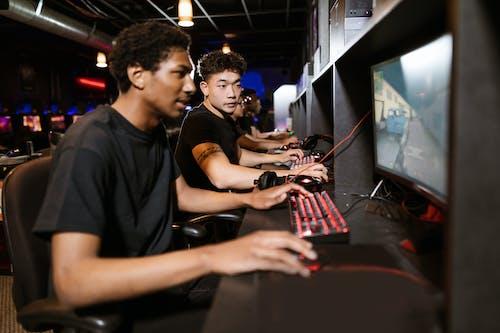 Gratis lagerfoto af arkade, computerspil, cyber
