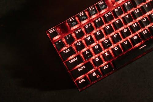 Photos gratuites de clavier de jeu, clavier mécanique, éclairé