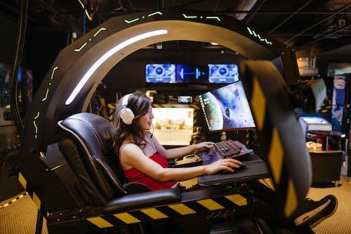 Foto d'estoc gratuïta de alta tecnologia, arcada, arcade
