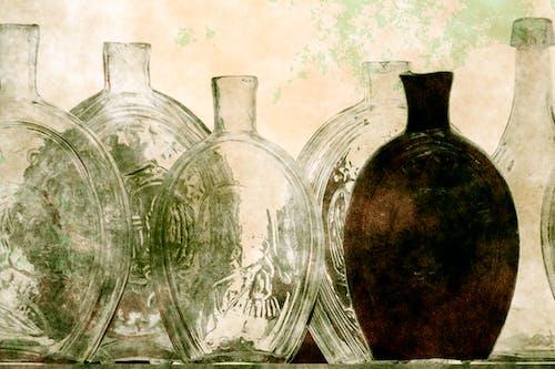 Free stock photo of bottles, glass, vintage