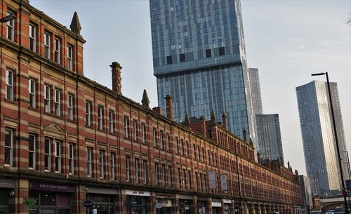 Free stock photo of architectural, beetham tower, city