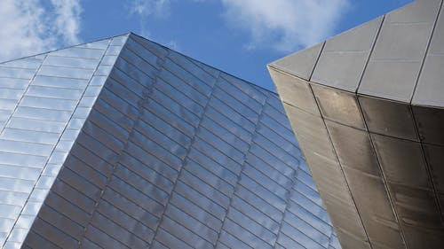 Free stock photo of architectural, lowry theatre, metal cladding