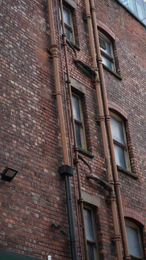 Free stock photo of gutters, manchester, red brick