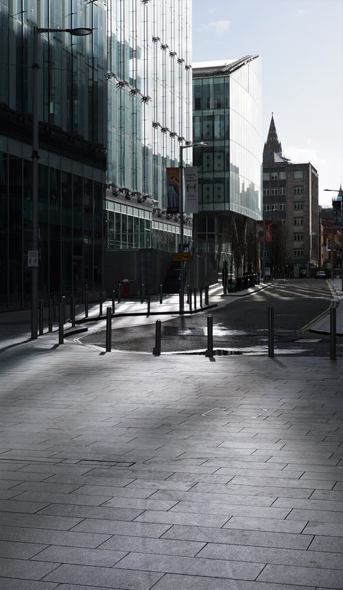 Free stock photo of glass building, light reflection, manchester
