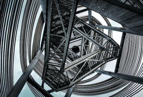 Gratis arkivbilde med arkitektonisk design, arkitektur, bygning, jern