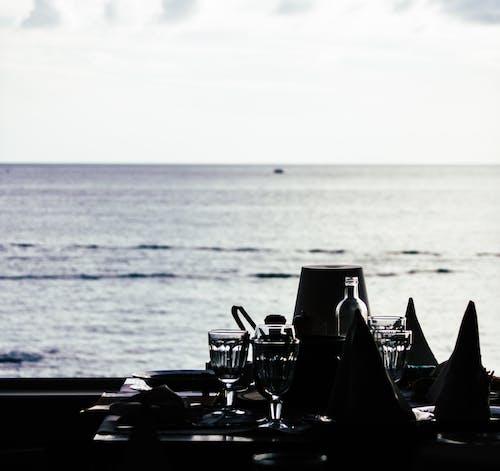 구름, 막대기, 물, 바다의 무료 스톡 사진