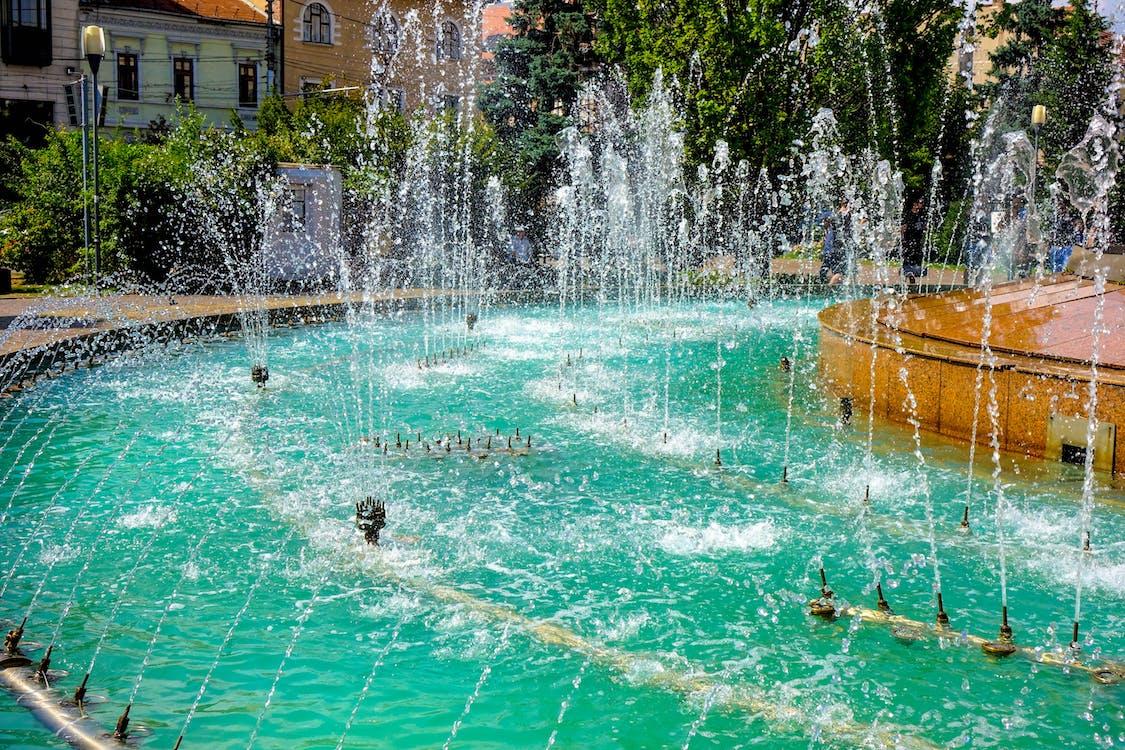 Gratis lagerfoto af ferskvand, springvand, vand