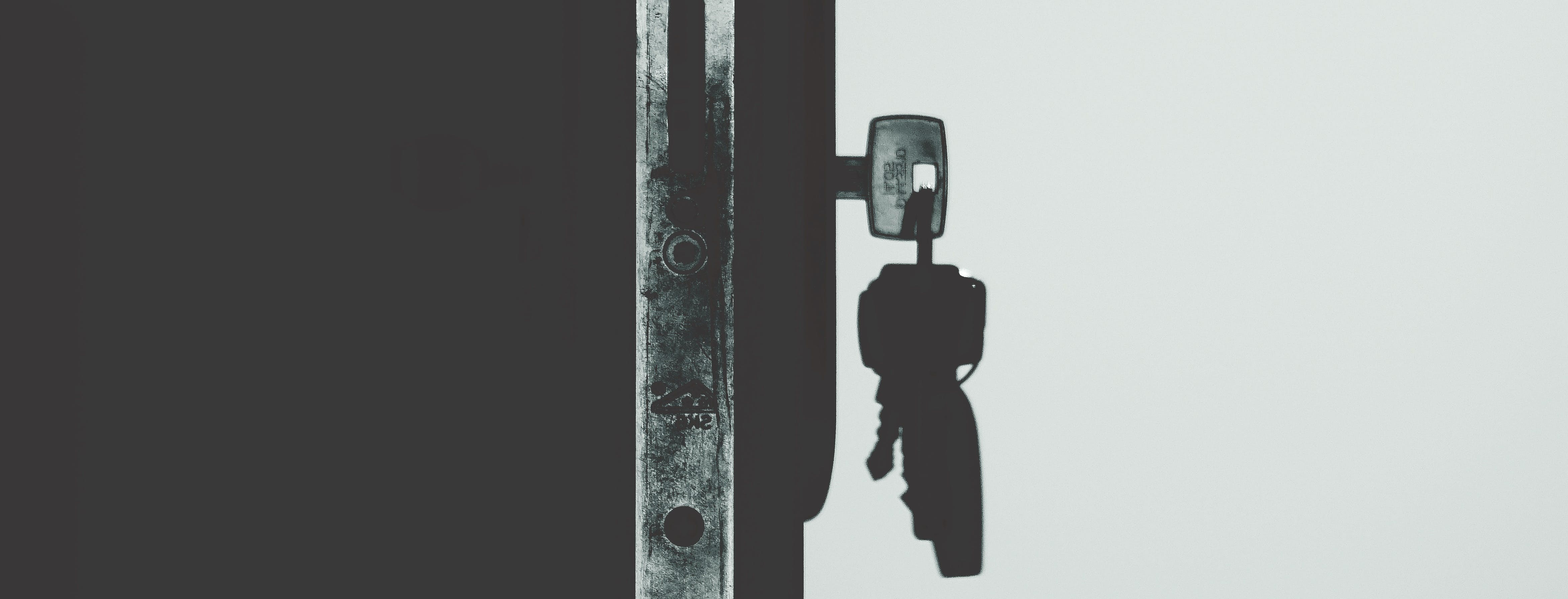 Monochrome Photography of Keys · Free Stock Photo