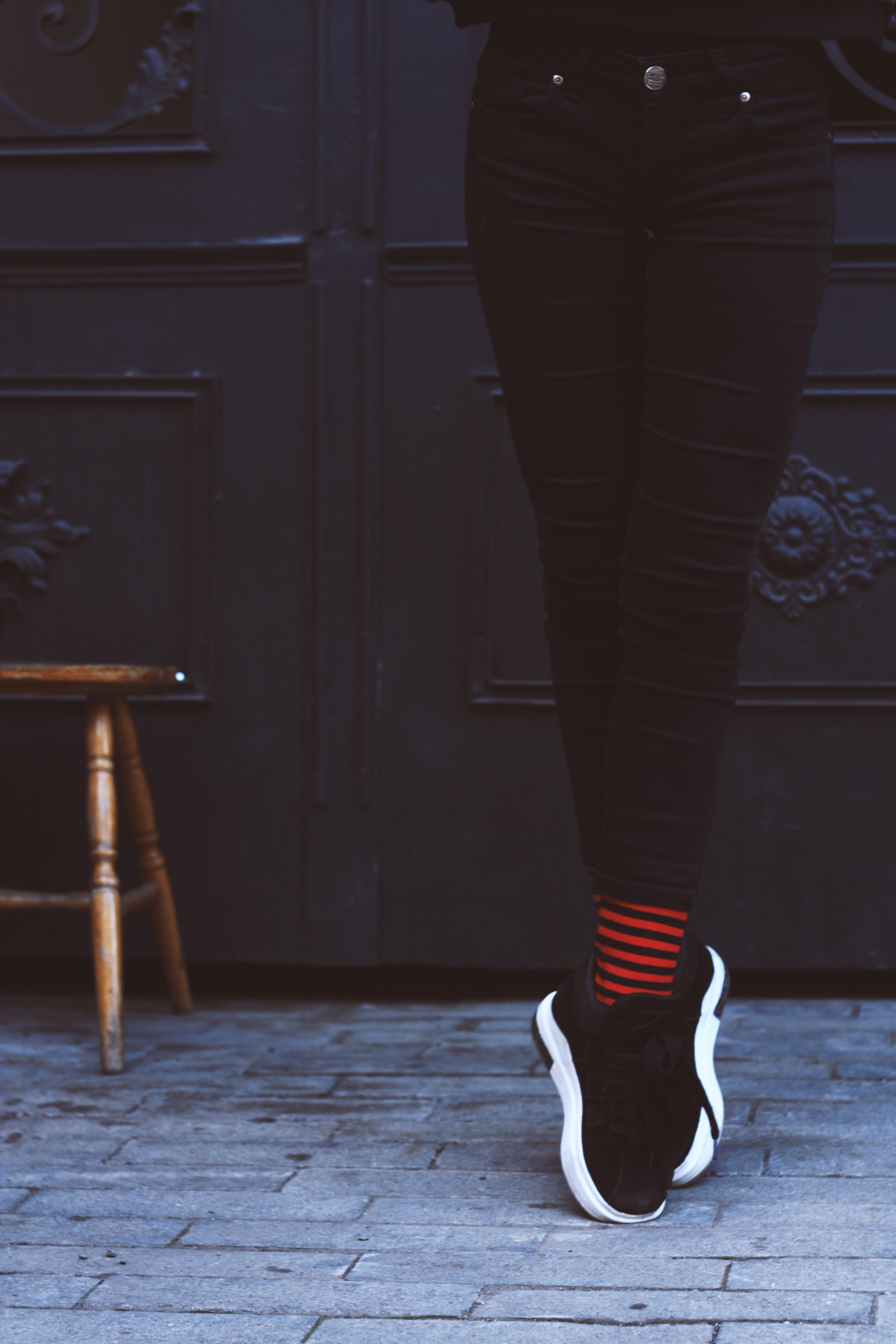 Ben, fodtøj, gade