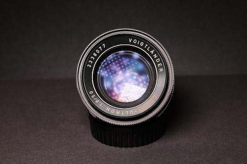 Close-Up Photography of Black Dslr Camera Lens